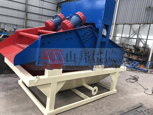 广西用户咨询时产150吨砂石脱水筛哪个厂家靠谱?